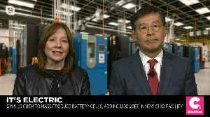 GM CEO Mary Barra Says New Venture Will Help Company Win in EV Market [Video]