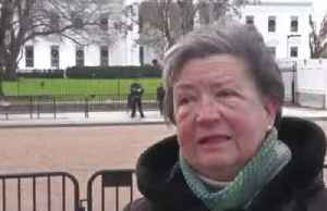 People outside WH react to Pelosi's impeachment announcement [Video]