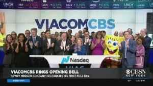 Viacom And CBS Announce Merger [Video]