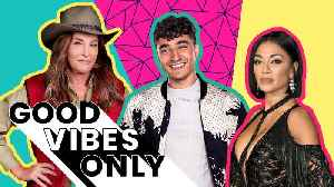 Girl Bands, Jungle Celebs and Strictly Come Dancing's Perfect Score  | Good Vibes Only [Video]