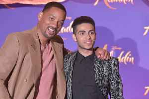 Will Smith Gives Advice to Mena Massoud [Video]