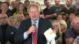 Boris Johnson 'thinks' he can get a trade deal with EU by end of 2020 [Video]