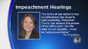 Rep. Diana DeGette Releases Statement Regarding Impeachment Hearings [Video]