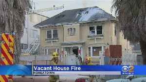 Fire Breaks Out In Vacant Koreatown House [Video]