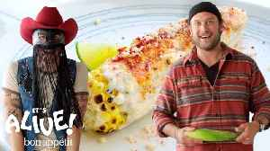 Brad and Orville Peck Make Elote [Video]