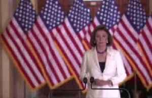 News video: Pelosi backs impeachment, saying democracy 'at stake'