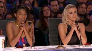 Julianne Hough Reacts To Gabrielle Union's 'AGT' Controversy [Video]