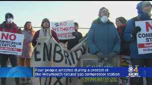 Protesters In Weymouth Rally Against Natural Gas Compressor Station [Video]