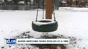 Akron spending hundreds of thousands to improve neighborhood parks [Video]
