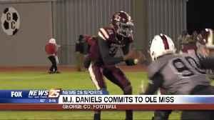 George County Football: M.J. Daniels commits to Ole Miss [Video]