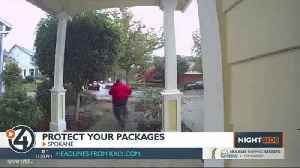 Tips to keep your packages safe from Porch Pirates during the holidays [Video]