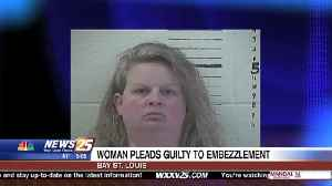 Bay St. Louis woman pleads guilty after embezzling over $100,000 [Video]