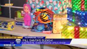Rush personnel Chico hosting 'Fill Santa's Sleigh' toy drive Wednesday [Video]