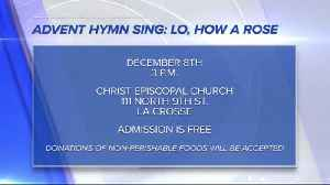 Save the Date - Advent Hymn Sing: Lo, How a Rose [Video]