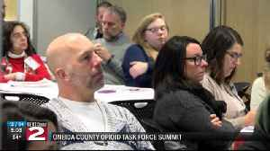 Opioid Task Force Summit restructures operations [Video]