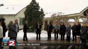 Hospice lights tree, launches memorial campaign [Video]