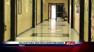 Health officials urge students, teachers, and staff to get flu shots [Video]