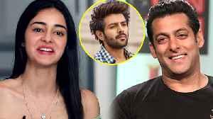 Ananya Panday Wants To Get Married To SALMAN KHAN | Pati Patni Aur Woh Promotions [Video]