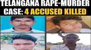 News video: Telangana Vet's accused killed in police encounter, cops say they tried to escape | OneIndia