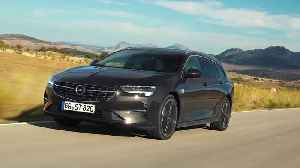 News video: New Opel Insignia Shines with Next-Gen IntelliLux LED Pixel Light