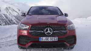 Mercedes-Benz GLE 400 d 4MATIC Coupé Design in Hyacinth red [Video]
