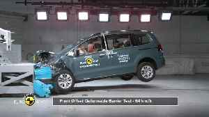 Volkswagen Sharan - Crash & Safety Tests 2019 [Video]