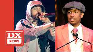 Eminem Takes Shots At Nick Cannon & Mariah Carey On Fat Joe Track 'Lord Above' [Video]