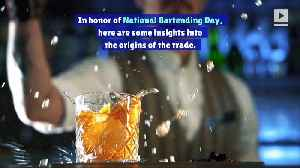 5 Things You Didn't Know About Bartending (National Bartender Day) [Video]