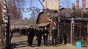 Germany's Merkel visits Auschwitz for first time as chancellor [Video]