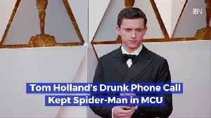 Spider-Man's Drunk Phone Call [Video]