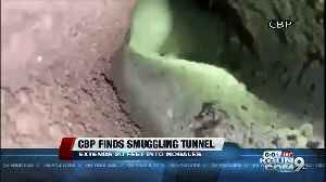 Border tunnel discovered near Nogales [Video]