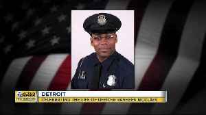Funeral today for fallen DPD Officer Rasheen McClain [Video]