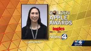 Monaview Elementary School teacher wins Golden Apple award [Video]