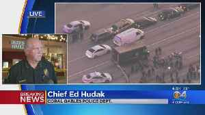 WEB EXTRA: Coral Gables Police Chief Ed Hudak Holds Press Conference On Armed Robbery, Chase & Shootout [Video]