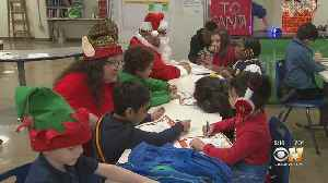 Holiday Tradition At Dallas High School Becomes New Learning Tool [Video]