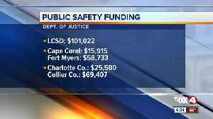Department of Justice announces public safety funding in Southwest Florida [Video]