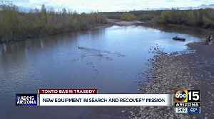 New equipment being used in search and recovery mission at Tonto Creek [Video]