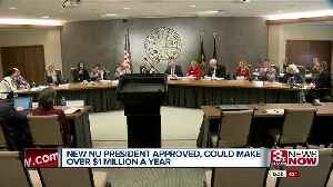 New NU President Approved with Hefty Salary Proposed [Video]