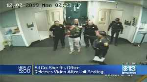 Stockton Man Who Claims He Was Beaten In Jail Attack Charged With Battery On Officers [Video]