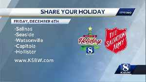 Salvation Army orgs across Central Coast use Share Your Holiday donations locally [Video]