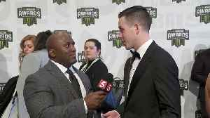 News video: Alex Bowman on the NASCAR Awards red carpet