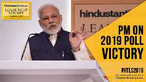 #HTLS2019: PM Modi remembers BR Ambedkar; reveals how he won 2019 LS polls [Video]