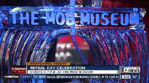Repeal Day at The Mob Museum in downtown Las Vegas [Video]