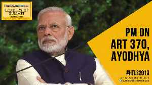 Citizenship Bill, Art 370, Ayodhya: PM's 'better future' pitch | HTLS 2019 [Video]