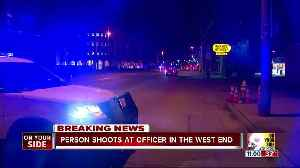 Cincinnati police investigating shots fired at officer in the West End [Video]