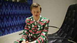 A sixth-form pupil is devastated after his Christmas suits were BANNED by his 'Grinch' teachers who said they were not appropria [Video]