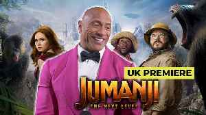 Dwayne Johnson and Jumanji cast at UK Premiere [Video]