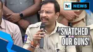 'Snatched our guns': Telangana Police on encouter killing of rape accused [Video]