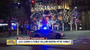 JACK Casino and Public Square back open after threat [Video]