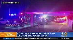 Hotel Fire In South Brunswick, N.J. [Video]